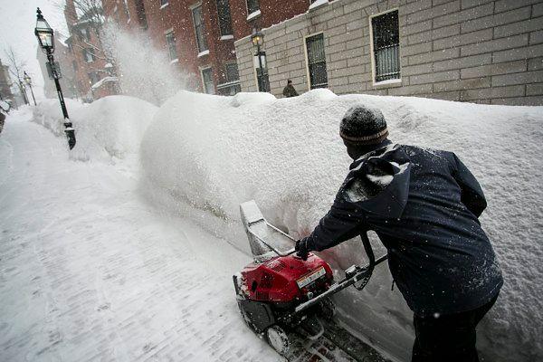Północny-wschód USA pod rekordowymi zaspami śnieżnymi
