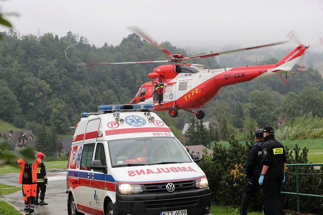 Tatry. 5 osób nie żyje po burzy w górach