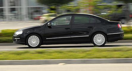 VW Passat TDI: raz na wozie, raz pod wozem