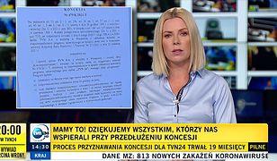 Joanna Kryńska i namacalny dowód przyznania koncesji od KRRiT