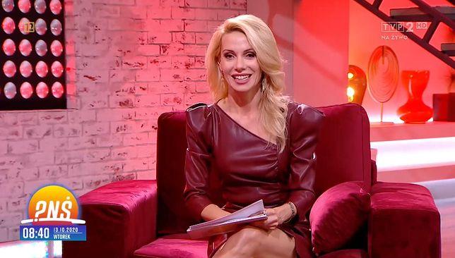 """Małgorzata Opczowska zadebiutowała w """"Pytaniu na śniadanie"""". Nie tylko jej strój wzbudził kontrowersje"""
