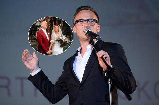 Bartosz Prokopowicz ponownie się ożenił