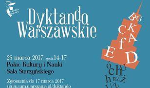 Pierwsze Dyktando Warszawskie. Tekst przygotuje prof. Bralczyk