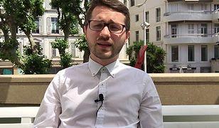 Łukasz Knap w Cannes