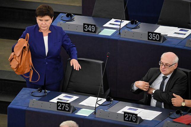 Beata Szydło nie będzie ubiegać się o fotel szefa komisji zatrudnienia i spraw społecznych PE