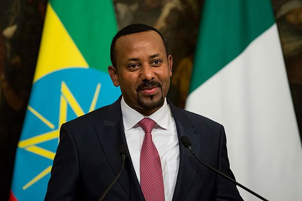 Laureat Pokojowej Nagrody Nobla - Premier Etiopii Abiy Ahmed Ali