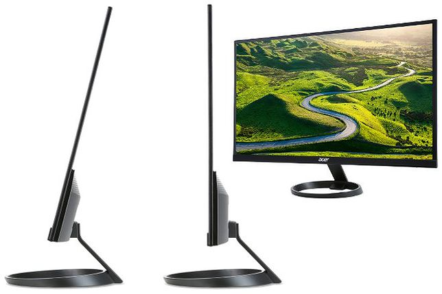 Wyjątkowo cienki monitor od Acera - tylko 7 mm