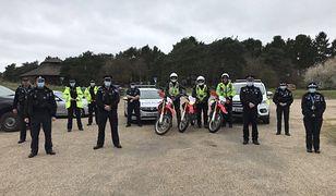 Sposób na nielegalny offroad. Brytyjska policja zarekwirowała 11 motocykli i quada