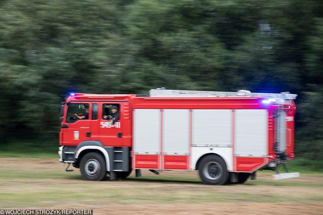 Dąbrowa Zielona. Wybuch gazu w domu jednorodzinnym. 3 osoby zostały ranne