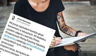 Jerzy Skoczylas opublikował oficjalne przeprosiny