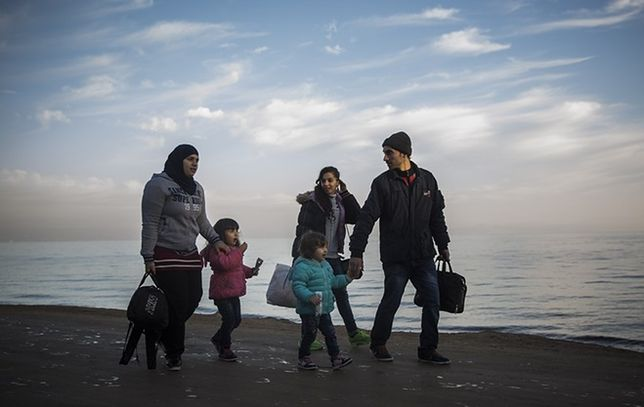 W domu z uchodźcą