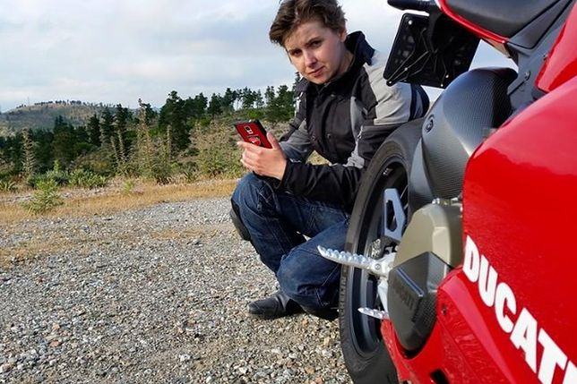 Najszybsza Polka na motocyklu