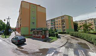 Bloki na ulicy Kolejowej w Zgierzu.