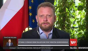 """Łukasz Szumowski o hejcie ze strony opozycji. """"To jest kampania związana z wyborami"""""""