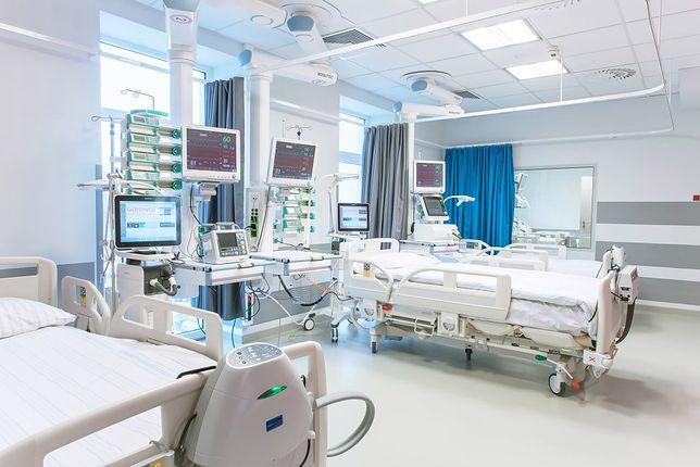 Osiem łóżek respiratorami ma oddział intensywnej terapii w Kluczborku. Nie jest wykorzystywany  w przygotowaniach do epidemii koronawirusa, bo NFZ nie podjął decyzji w sprawie finansowania.