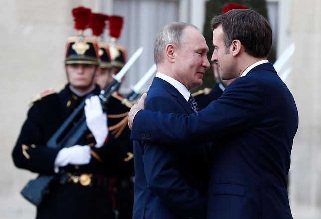Szczyt ws. wojny w Donbasie. Władimir Putin spóźnił się o 20 min na spotkanie w Pałacu Elizejskim