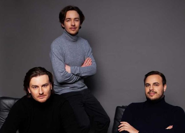 Na zdj. twórcy Bitpandy - Eric Demuth, Paul Klanschek i Christian Trummer