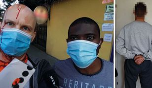 Zarzuty za atak na nauczyciela. Mężczyzna stanął w obronie cudzoziemca (Fot. policja, archiwum prywatne)