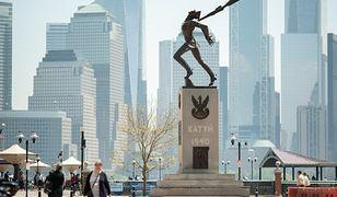 Pomnik Katyński w New Jersey stoi w prestiżowym miejscu