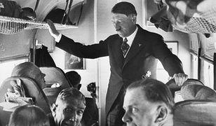 Adolf Hitler w samolocie, lata 30. XX w.