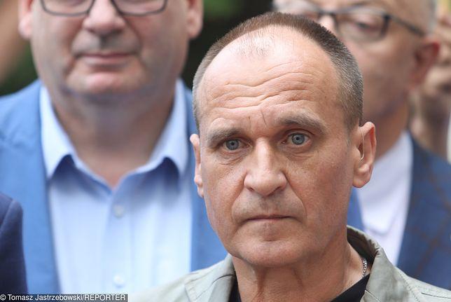 Paweł Kukiz zabiera głos.