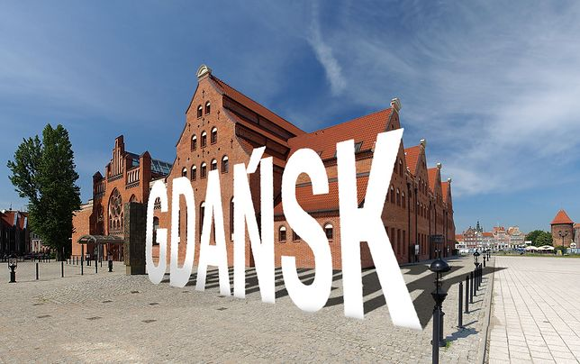 Gdańsk jak Hollywood - w mieście stanie wielki napis