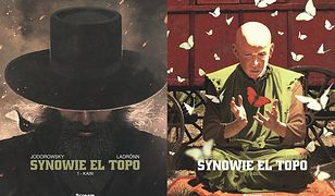 """Synowe El Topo"": ""Kain"" i ""Abel"", scen. Alejandro Jodroowsky, rys. José Ladrönn"
