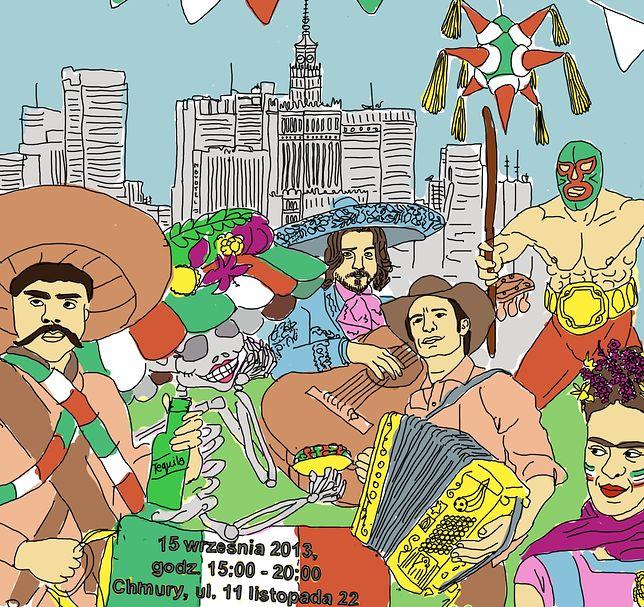 Dzień Niepodległości Meksyku w Warszawie