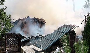 Zagaj koło Turku. Mężczyzna zginął w pożarze. Przyczyną wybuch gazu. Źródło zdjęć i filmu: turek.net.pl