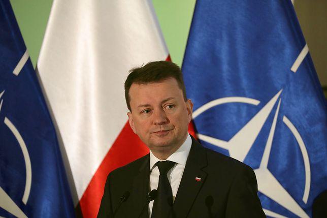 Mariusz Błaszczak wyjaśnił, że weto prezydenta Andrzeja Dudy ws. ustawy degradacyjnej definitywnie kończy aktywność MON w tej sprawie