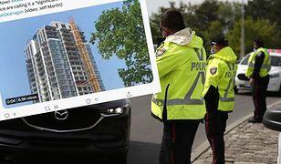 Katastrofa w Kanadzie: zawalił się dźwig. Jest wiele ofiar