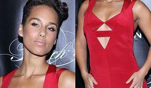 Alicia Keys kusi kobiecymi kształtami!