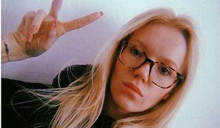 Joanna Majstrak nieczęsto nosi okulary poza własnym mieszkaniem