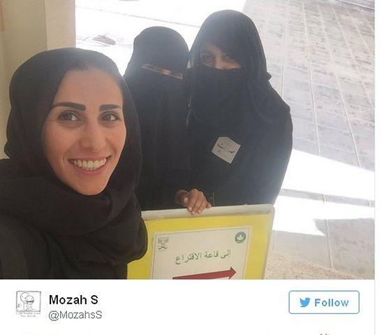 Kobiety po raz pierwszy głosują w Arabii Saudyjskiej
