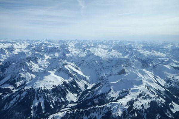 Alpejskie lodowce szybko topnieją