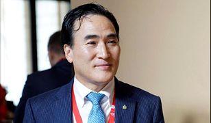 """Interpol: Kim Dzong Jang z Korei Południowej (na zdjęciu) nowym szefem. """"Cios dla Rosji"""""""