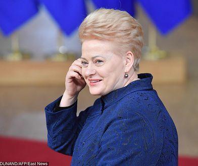 Dalia Grybauskaite wręczyła nowemu ambasadorowi listy uwierzytelniające