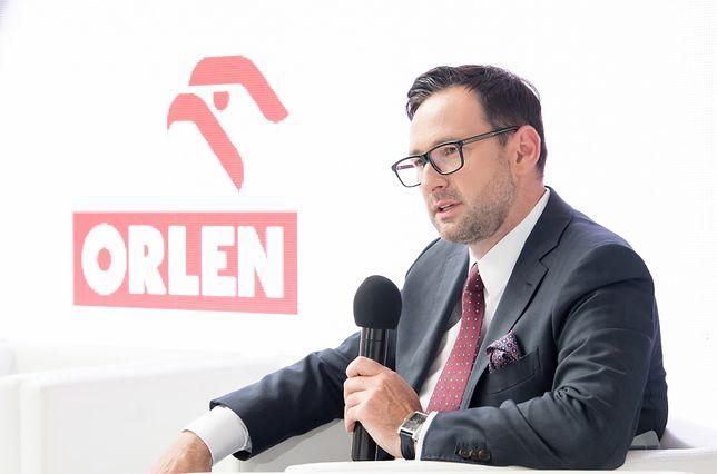 Daniel Obajtek, prezes PKN Orlen