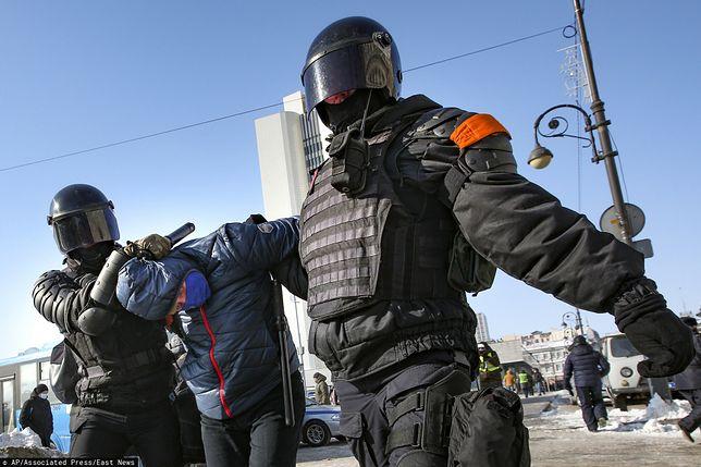 Aleksiej Nawalny aresztowany. Rosja ponownie protestuje