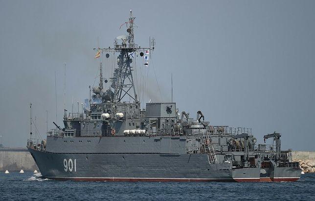Kolejne rosyjskie okręty desantowe wpłynęły na Morze Czarne. Zdjęcie ilustracyjne