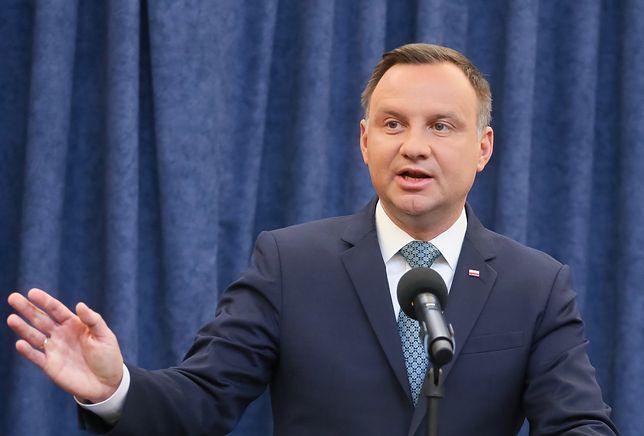 Prezydent Andrzej Duda nie wyobraża sobie, by Pomnik Katyński nie został uszanowany