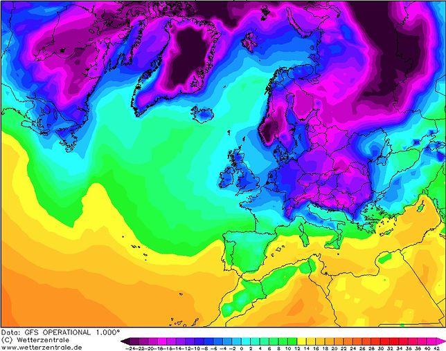 Nadciąga mroźne powietrze z Grenlandii. Ta noc będzie wyjątkowo zimna