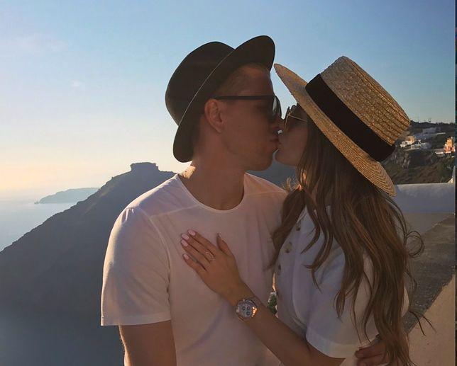 Marina i Wojciech Szczęsny spodziewają się pierwszego dziecka