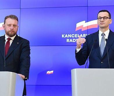 Łukasz Szumowski i Mateusz Morawiecki mówili o kolejnym etapie luzowania obostrzeń