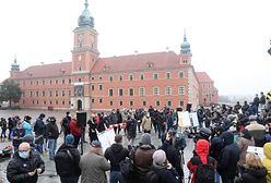 Protesty w Warszawie. Przedstawiciele branż zamkniętych kierują postulaty do rządu