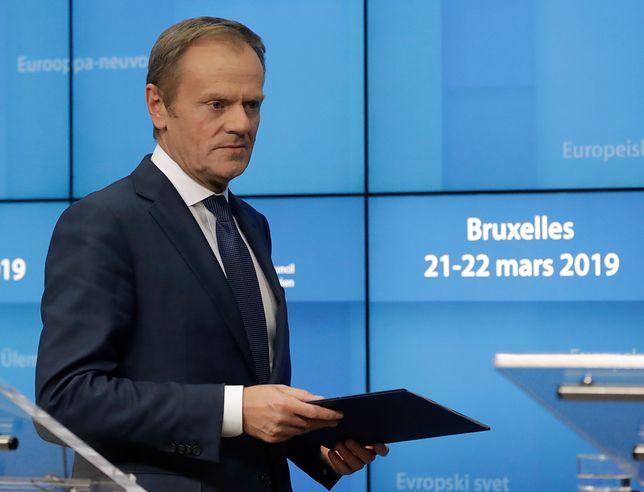 Donald Tusk skomentował decyzję UE ws. brexitu. Szczere wyznanie