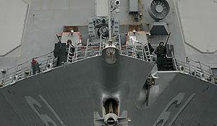 Strzały na pokładzie amerykańskiego niszczyciela