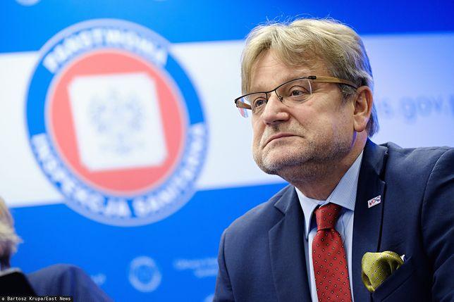 Jarosław Pinkas, Główny Inspektor Sanitarny