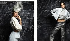 """Kendall Jenner i Gigi Hadid jako uczennice w """"V Magazine"""""""