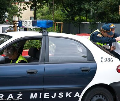 Strażnicy miejscy w Warszawie po raz kolejny zostali zaatakowani kwasem masłowym
